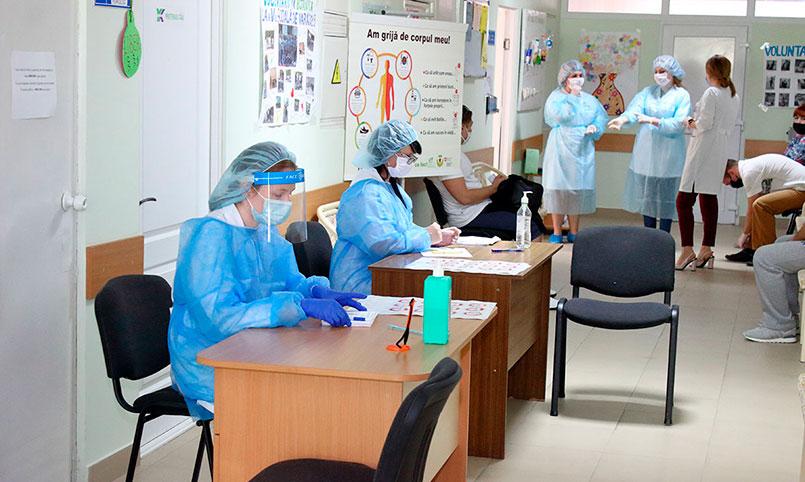 Donare voluntară de sânge în incinta CMF nr. 2 a IMSP AMT Botanica