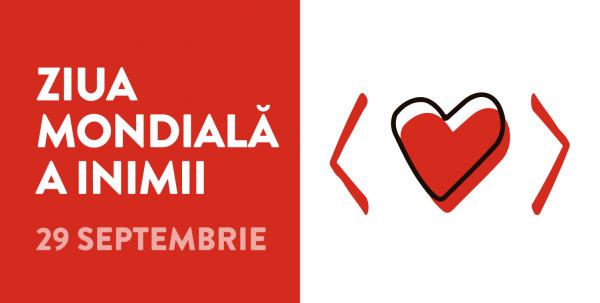 """Ziua mondială a inimii 2020 – """"Folosește-ți inima pentru a învinge bolile cardiovasculare"""""""