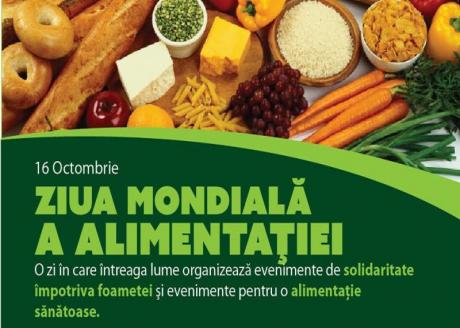 16 octombrie 2020 – Ziua Mondială a Alimentației