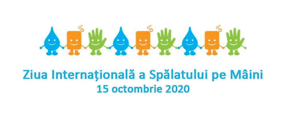 Ziua Internațională a Spălatului pe Mâini  – 15 octombrie 2020