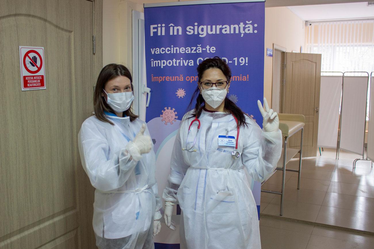 Vaccinul salvează vieți!!!