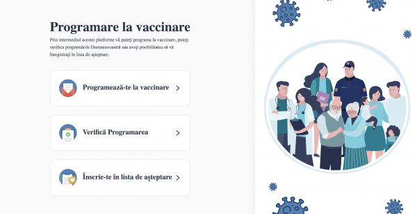 Populația se poate programa online la vaccinare prin intermediul platformei: www.vaccinare.gov.md